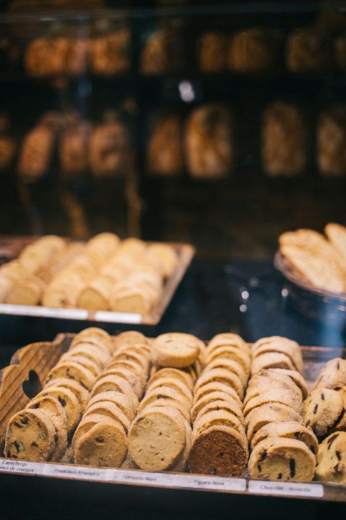 Les biscuit de la boulangerie de Cucugnan et de son moulin. crédit photo : Clara Ferrand - blog Wildroad