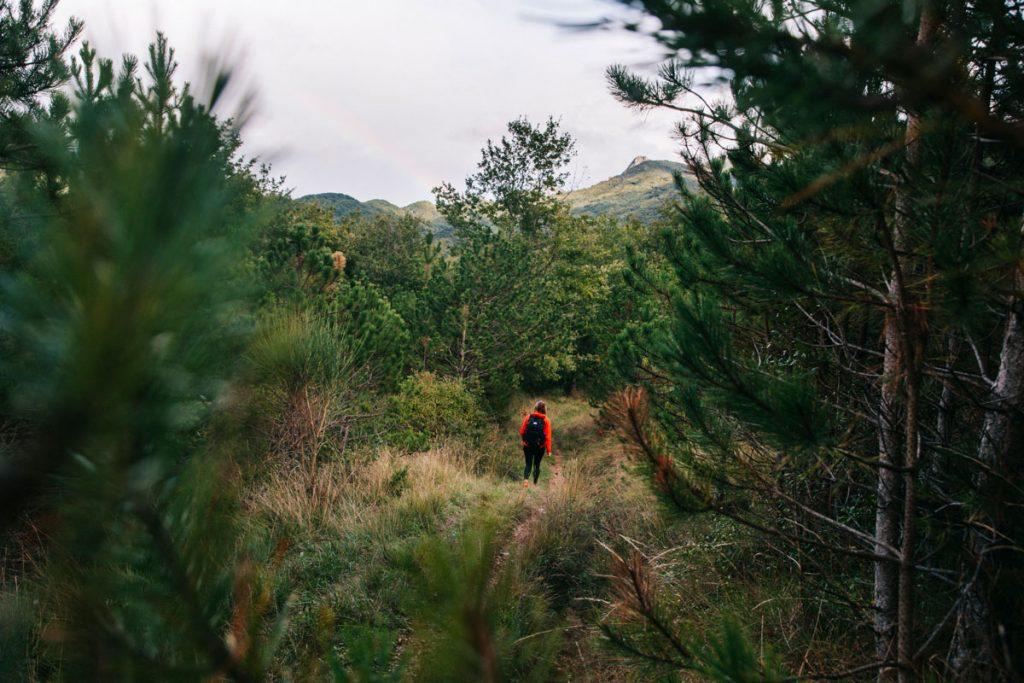 Étape Bugarach avec variante nord du sentier Cathare. crédit photo : Clara Ferrand - blog Wildroad
