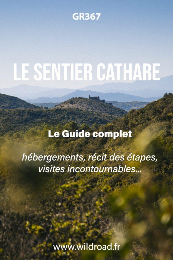 Le sentier Cathare : le guide complet pour faire le GR367 de l'Aude à l'Ariège. Mes conseils pour une organisation optimisée avec les meilleures adresses de la région. crédit photo : Clara Ferrand - blog Wildroad #occitanie #aude #sentiercathare #GR367 #randonnéenefrance