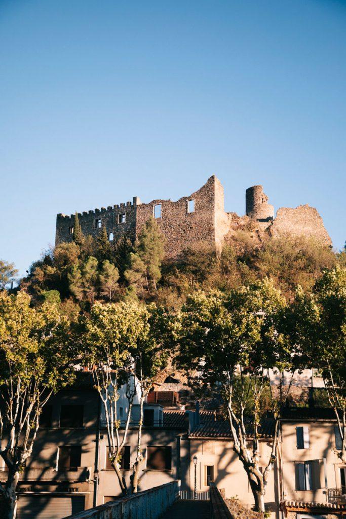 Visiter le chateau de Durban-Corbières. crédit photo : Clara Ferrand - blog Wildroad
